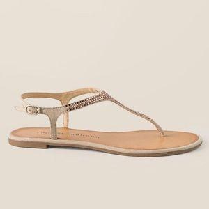 Chinese Laundry Blush Goodwill Rhinestone Sandals